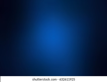 Dark blue vector abstract blurred pattern. Colorful abstract illustration with gradient. The template can be used as a background of a cell phone.