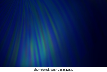 Dark BLUE vector abstract bright texture. Colorful illustration in abstract style with gradient. Elegant background for a brand book.
