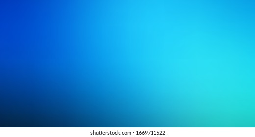 Dark BLUE vector abstract layout. Shining colorful illustration in blur style. Background for ui designers.