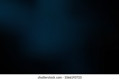 Dark BLUE vector backdrop with dots. Illustration with set of shining colorful abstract circles. Pattern can be used as texture of wallpapers.