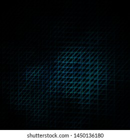 Dark BLUE vector backdrop with lines. Repeated lines on abstract background with gradient. Smart design for your promotions.