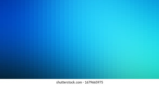 Dark BLUE vector background in polygonal style. Abstract gradient illustration with colorful rectangles. Pattern for business booklets, leaflets