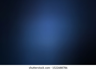 Dark BLUE vector blurred background. Creative illustration in halftone style with gradient. Blurred design for your web site.