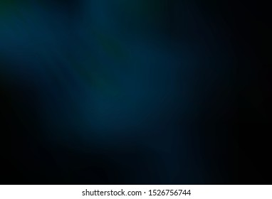 Dark BLUE vector blurred background. Abstract colorful illustration with gradient. New style for your business design.