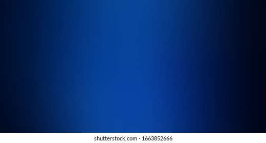 Dark BLUE vector blurred colorful background. Gradient abstract illustration with blurred colors. Background for ui designers.