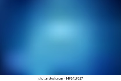 Dark BLUE vector blurred pattern. Colorful illustration in abstract style with gradient. New way of your design.