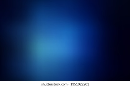 Dark BLUE vector blurred shine abstract background. Shining colored illustration in smart style. New design for your business.