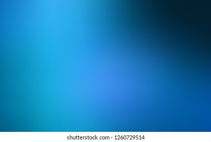 Dark BLUE vector blurred template. Shining colored illustration in a Brand new style. Brand new design for your business.