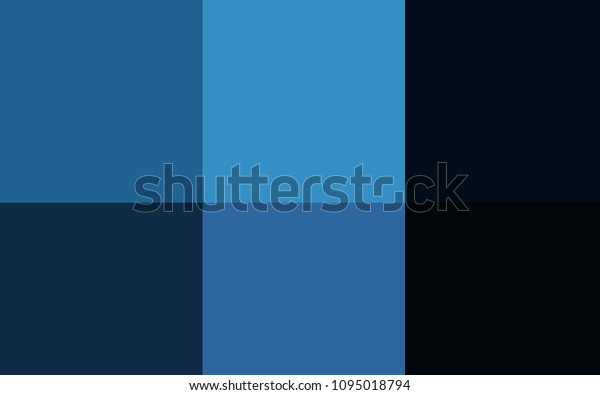 Dark Blue Vector Cover Colorful Palette Stock Vector Royalty Free