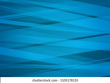 Dark BLUE vector cover with long lines. Glitter abstract illustration with colored sticks. The pattern can be used for websites.