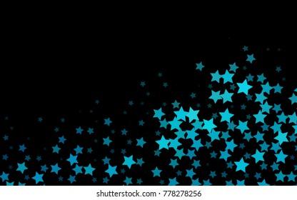 dark blue vertical pattern christmas stars stock illustration