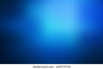 Dark BLUE vector glossy abstract background. New colored illustration in blur style with gradient. Background for a cell phone.