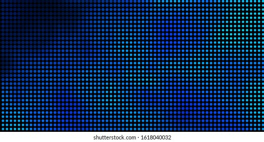 Dark BLUE vector layout with circle shapes. Abstract colorful disks on simple gradient background. Pattern for wallpapers, curtains.
