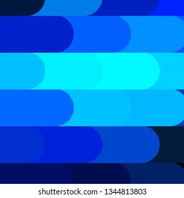 Dark BLUE vector layout with lines. Gradient illustration with straight lines in abstract style. Pattern for websites, landing pages.