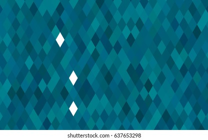 Dark BLUE vector polygon abstract template. Shining colored illustration in a brand-new style. Brand-new design for your business.