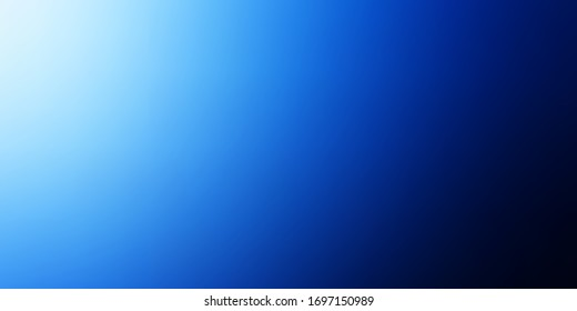Dark BLUE vector smart blurred template. Gradient abstract illustration with blurred colors. New design for your web apps.