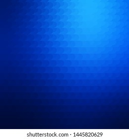 Dark BLUE vector template with lines. Gradient illustration with straight lines in abstract style. Pattern for websites, landing pages.