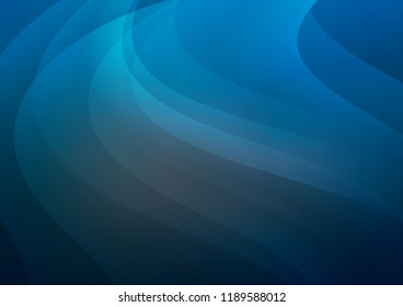 Dark BLUE vector texture with colored lines. Blurred decorative design in simple style with lines. Best design for your ad, poster, banner.