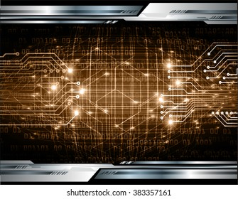 dark brown silver Light Abstract Technology background for computer graphic website internet and business. circuit. illustration. digital.