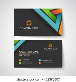 Template Carte De Visite Images Stock Photos Vectors