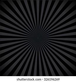 Dark color burst background. Vector illustration.