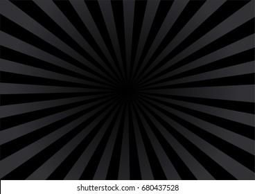 Dark color burst background. -Vector illustration.