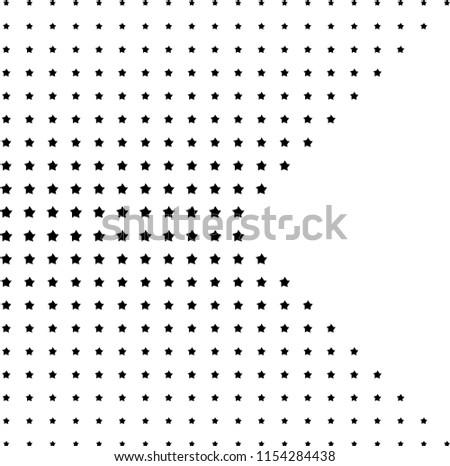 dark dots pentagon vector abstract background stock vector royalty