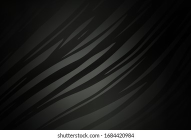 Dark Gray vector colorful abstract texture. An elegant bright illustration with gradient. Background for designs.