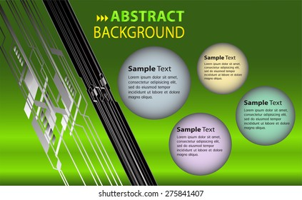 dark green color Light Abstract Technology background computer graphic website internet and business. circuit. vector illustration. text box. Brochure. card. banner flyer magazine. Design label.