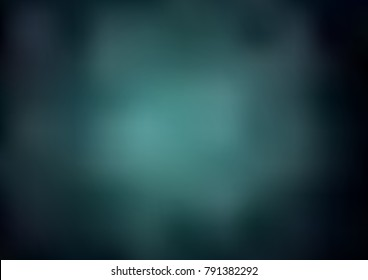 Dark Green vector abstract bright pattern. Brand-new colored illustration in blurry style with gradient. Brand-new design for your business.
