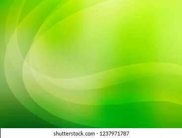 Dark Green vector background with bent ribbons. A completely new color illustration in marble style. The template for cell phone backgrounds.