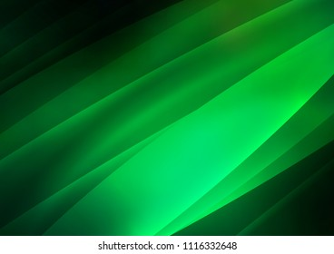 Dark Green vector template with repeated sticks. Modern geometrical abstract illustration with staves. The pattern can be used for websites.