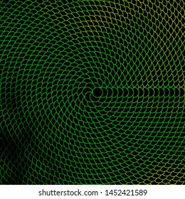 Dark Green, Yellow vector layout with circles. Abstract illustration with colorful spots in nature style. Pattern for business ads.