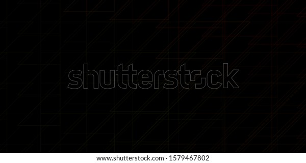 Dark Green, Yellow vector layout with lines. Repeated lines on abstract background with gradient. Smart design for your promotions.