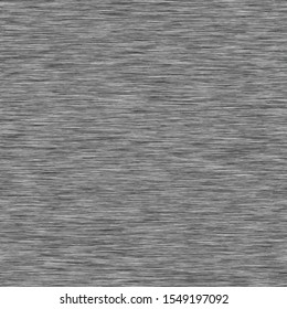 Dark Grey Marl Heather Texture Background. Faux Cotton Fabric with Vertical T Shirt Style. Vector Pattern Design. Light Gray Melange Space Dye for Textile Effect. Vector EPS 10 Tile Repeat