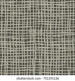Dark irregular grid pattern. Vector