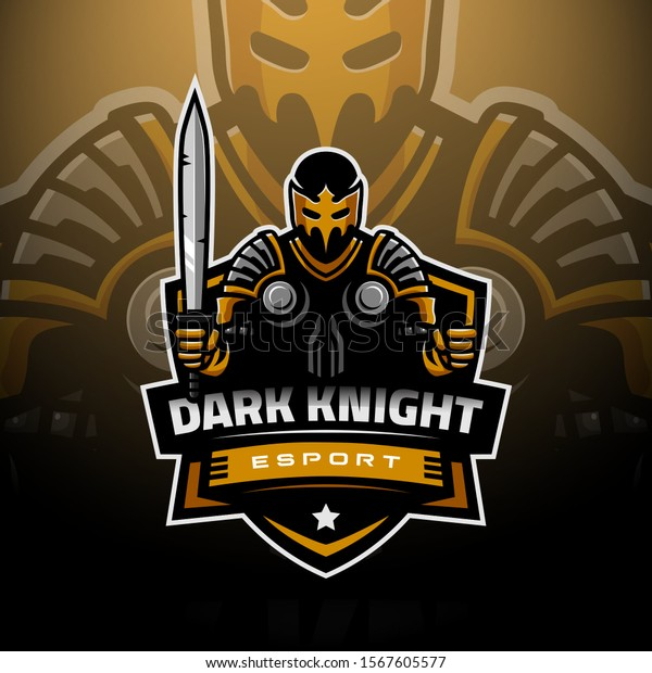 Dark Knight Logo Gaming Esport Stock Vector Royalty Free 1567605577 Discover 53 knight logo designs on dribbble. https www shutterstock com image vector dark knight logo gaming esport 1567605577