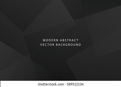 Dark and luxury dynamic modern abstract presentation vector background