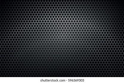 dark metal vector texture background