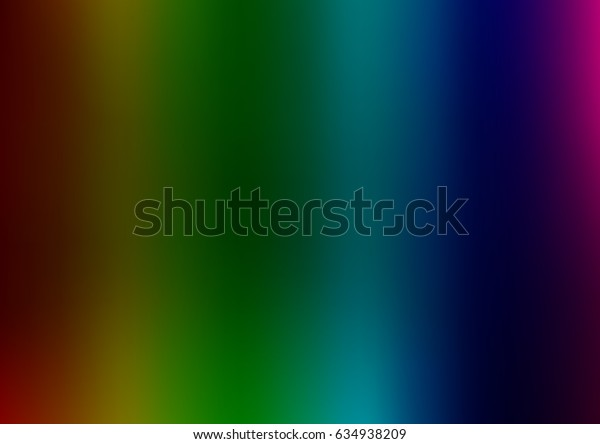 Dark Multicolor, Rainbow vector abstract blurred background. Colorful illustration in abstract style with gradient. The completely new template can be used for your brand book.