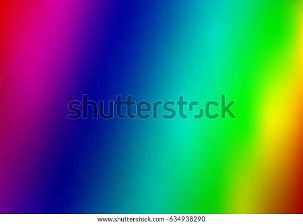 Dark Multicolor, Rainbow vector blurred shine abstract pattern. An elegant bright illustration with gradient. The template can be used as a background of a cell phone.