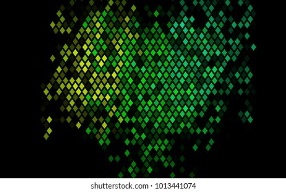 Dark Multicolor, Rainbow vector blurry rectangular background. Geometric background in square style with gradient. The pattern can be used for brand-new background.