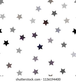 star seamless pattern black white retro stock vector royalty free