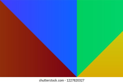Dark Multicolor, Rainbow vector texture with collection of colors. Color palette with set of colors. Smart set of colors for your work as a designer.