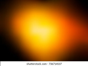 Dark Orange vector abstract bright background. Shining colored illustration in a brand-new style. The template can be used as a background of a cell phone.