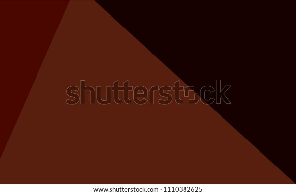Dark Orange vector low poly layout. Colorful abstract illustration with gradient. That pattern can be used as a part of a brand book.
