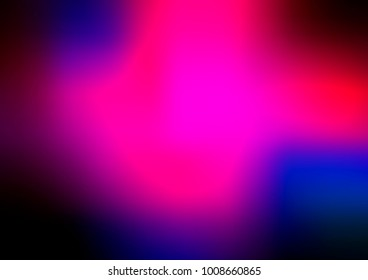 Dark Pink, Blue vector abstract blurred template. Creative illustration in halftone style with gradient. Brand-new design for your business.