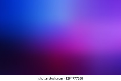 Dark Pink, Blue vector abstract blurred background. Colorful abstract illustration with gradient. Elegant background for a brand book.