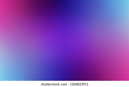 Dark Pink, Blue vector background with bubbles. Modern abstract illustration with colorful water drops. Pattern can be used for ads, leaflets.