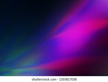 Dark Pink, Blue vector blurred background. An elegant bright illustration with gradient. Brand new style for your business design.